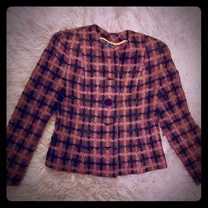 Pam  McMahon festive jacket